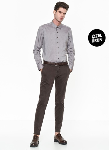 Beymen Business Slim Fit Pantolon Kahve